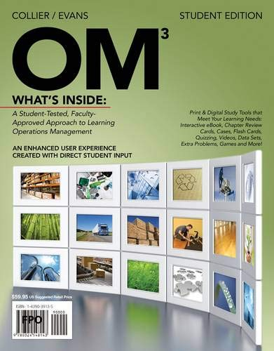 9780538479134: OM 3 (with Review Cards and Decision Sciences & Operations Management CourseMate with eBook Printed Access Card)