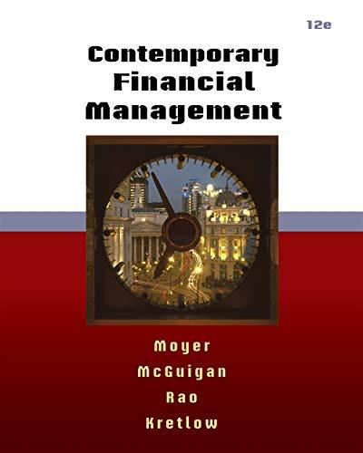 9780538479172: Contemporary Financial Management