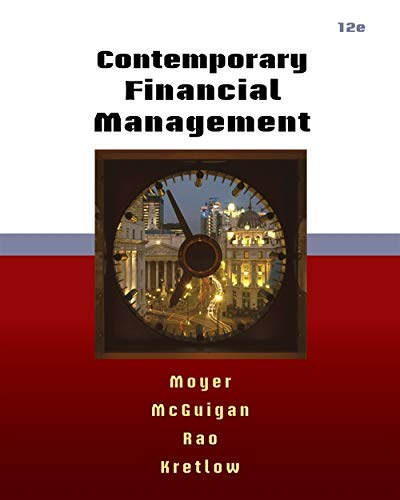 9780538479172: Contemporary Financial Management (with Thomson ONE - Business School Edition 6-Month Printed Access Card)