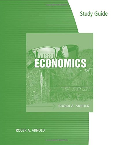 9780538479400: Study Guide for Arnold's Microeconomics