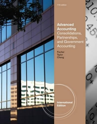 9780538480291: Advanced Accounting
