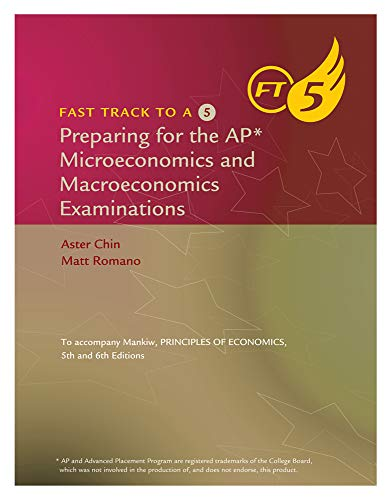 9780538480406: Fast Track to a 5: Preparing for the AP Microeconomics and Macroeconomics Examinations