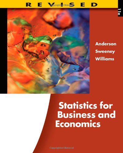 9780538481649: Statistics for Business and Economics