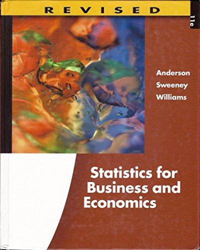 9780538481656: Statistics for Business and Economics
