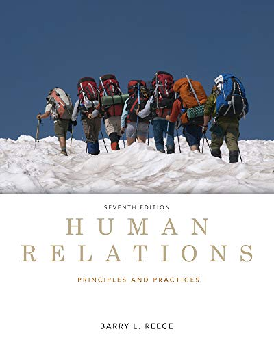 9780538481670: Human Relations: Principles and Practices