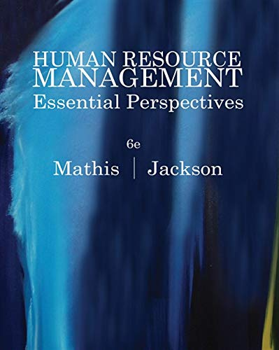 9780538481700: Human Resource Management: Essential Perspectives