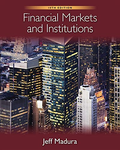 9780538482134: Financial Markets and Institutions [With Stock-Trak Coupon]