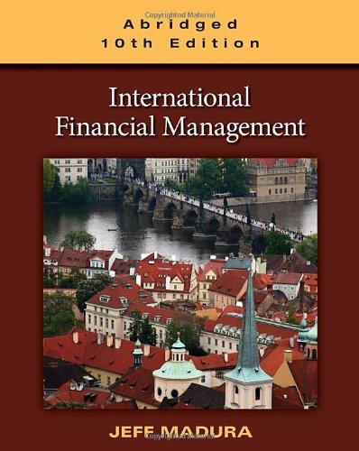 9780538482219: International Financial Management, Abridged Edition
