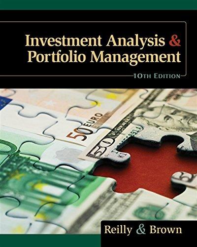 9780538482387: Investment Analysis and Portfolio Management
