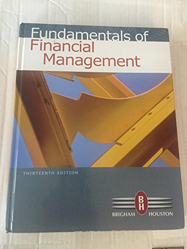 9780538482431: Fundamentals of Financial Management, 13th Edition