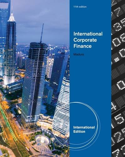 9780538482974: International Corporate Finance
