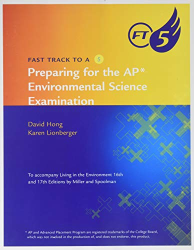 9780538493826: FAST TRACK TO A 5:AP ENVIRONMENTAL EXAM