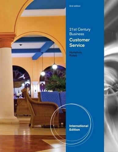 9780538494229: Customer Service. Doris D. Humphrey (Career Solutions Training Grou)