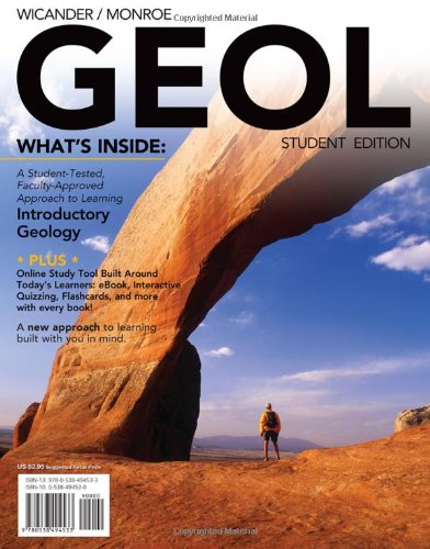 9780538494533: GEOL (with Earth Science CourseMate with eBook Printed Access Card and Virtual Field Trips in Geology) (Available Titles CourseMate)