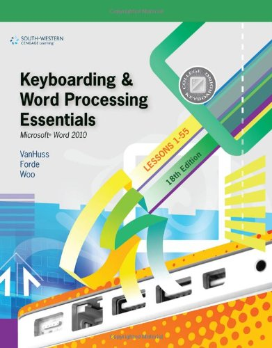 9780538495387: Keyboarding and Word Processing Essentials, Lessons 1-55: Microsoft Word 2010 (College Keyboarding)