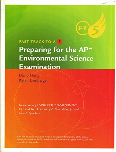 9780538495691: FAST TRACK TO A 5 (Preparing for the AP* Environmental Science Examination)