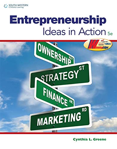 9780538496896: Entrepreneurship: Ideas in Action (Marketing (modified))