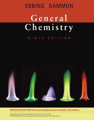 9780538497527: By Darrell Ebbing, Steven D. Gammon: General Chemistry, Enhanced Edition Ninth (9th) Edition