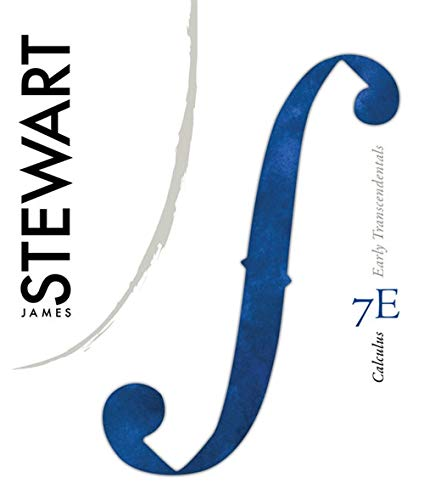 Calculus: Early Transcendentals (Textbooks Available with Cengage: James Stewart
