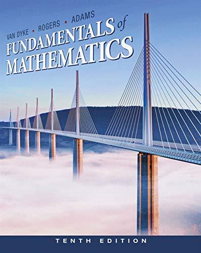 9780538497978: Fundamentals of Mathematics
