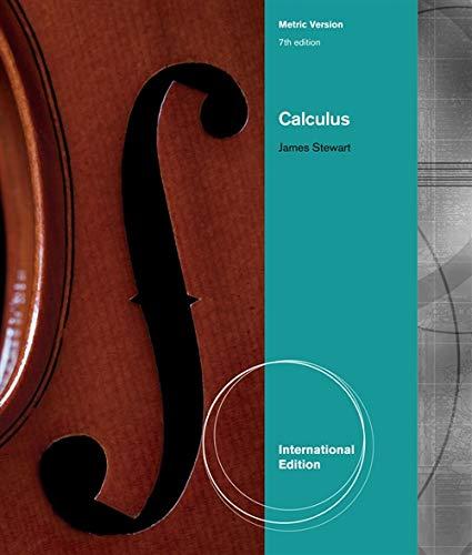 9780538498845: Calculus, International Metric Edition