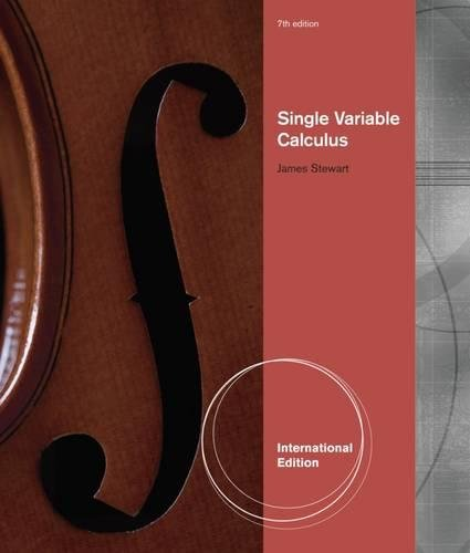 9780538498852: Single Variable Calculus, International Metric Edition