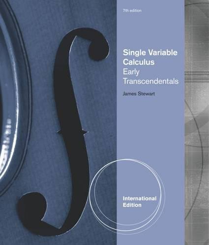 9780538498883: Single Variable Calculus (International Metric Edition)