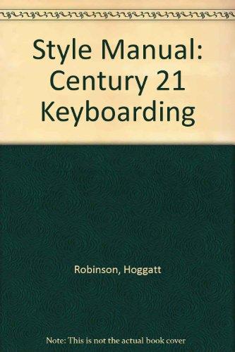9780538605113: Style Manual: Century 21 Keyboarding