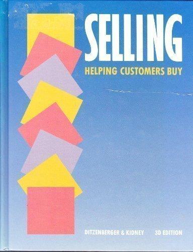9780538605328: Selling: Helping Customers Buy