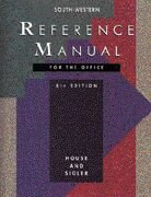 9780538619929: Reference Manual for the Office