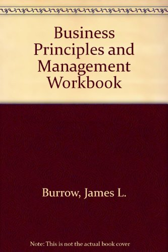 9780538624671: Business Principles and Management Workbook