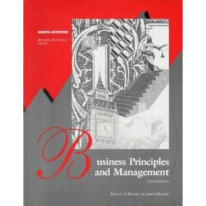 9780538624688: Business Principles and Management