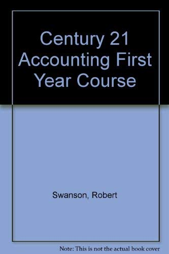 Century 21 Accounting First Year Course, Wraparound Teachers Edition 6th: Ross