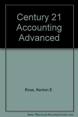 9780538631846: Century 21 Accounting Advanced