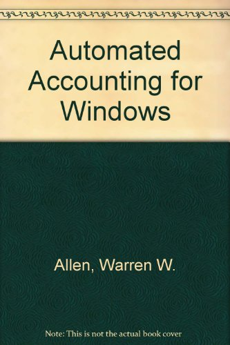 9780538641906: Automated Accounting for Windows