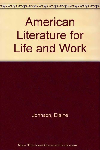 "American Literature For Life And Work: Template Disk Activities With Macintosh 3.5"" Disk, ..."