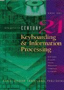 CENTURY 21 Keyboarding & Information Processing: Book One, 150 Lessons: Robinson, Jerry W.; ...