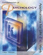 9780538650496: Fundamentals of Psychology : Applications for Life and Work