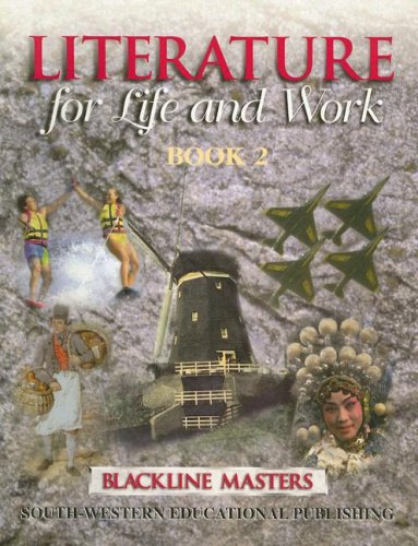 9780538667166: Literature for Life and Work: Book 2: Blackline Masters