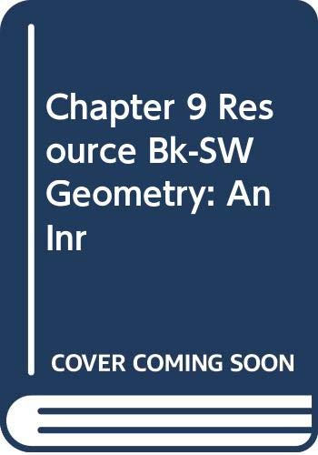 Chapter 9 Resource Bk-SW Geometry: An Inr: Gerver