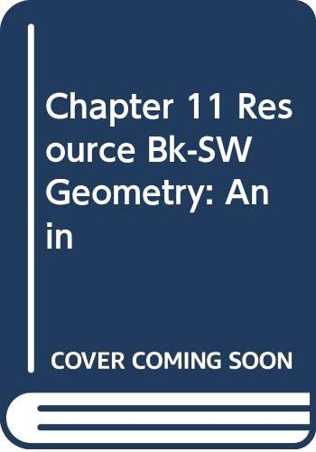 Chapter 11 Resource Bk-SW Geometry: An in: Gerver