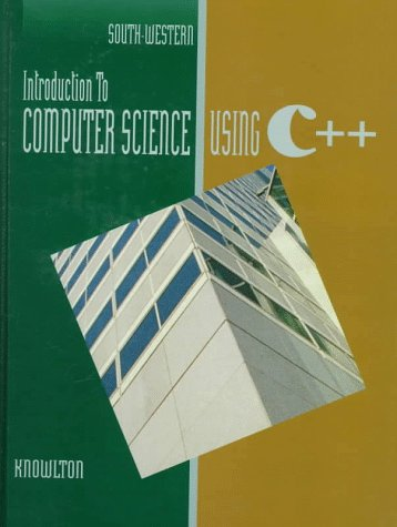 9780538676014: Introduction to Computer Science Using C++