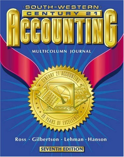 9780538676953: Century 21 Accounting: Multicolumn Journal Approach, Chapters 1-17