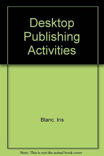 Desktop Publishing Activities :: Blanc, Iris