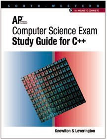 9780538679220: AP Computer Science Exam-Study Guide for C++