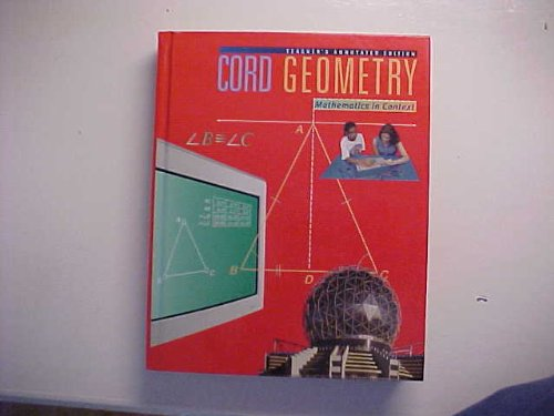 Cord Geometry: Mathematics in Context (Cord Geometry Series)
