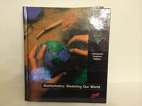 9780538682114: Mathematics: Modeling Our World Course One Teacher's Edition