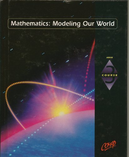 9780538682244: Comap Course 3, Mathematics Modeling Our World