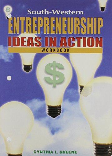 Entrepreneurship - Student Workbook: Greene, Cynthia L.