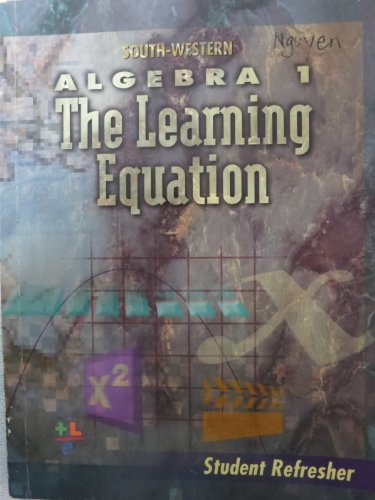 Student Refresher: Algebra 1: The Learnin